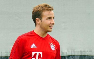 Mario Götze im Dress des FC Bayern