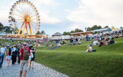 Panorama-Aufnahme vom impark Sommerfestival