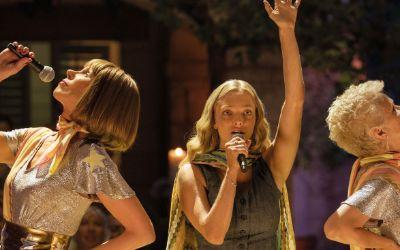 """Szene aus dem Film """"Mamma Mia! Here We Go Again"""""""