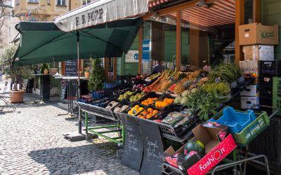 Obst & Gemüse Kopp auf dem Wienermarkt