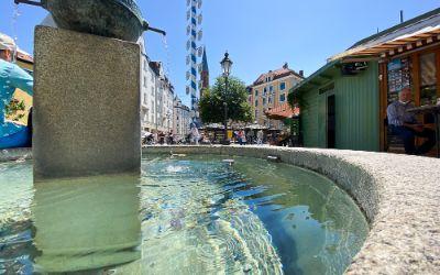 Brunnen am Wienermarkt