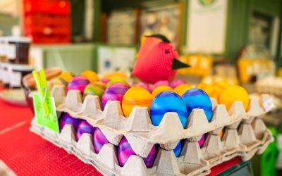 Ostereier vom Viktualienmarkt