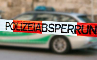 Polizei-Absperrung