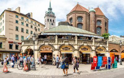 Altstadt mit Viktualienmarkt