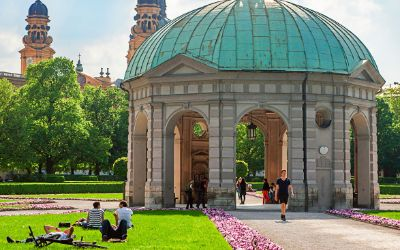 Dianatempel im Hofgarten