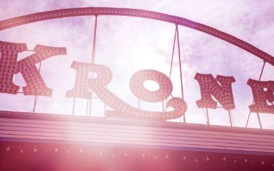 Die Außenfassade des Circus Krone