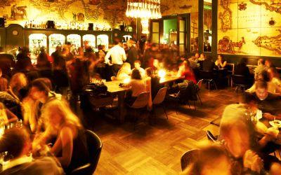 Goldene Bar im Haus der Kunst