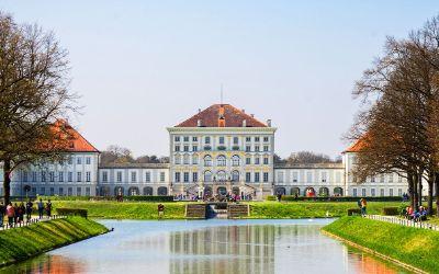 Schloss Nymphenburg im Frühling