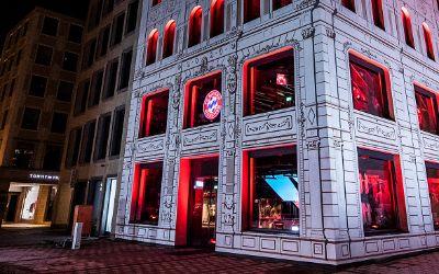 Die FC Bayern World in der Weinstraße