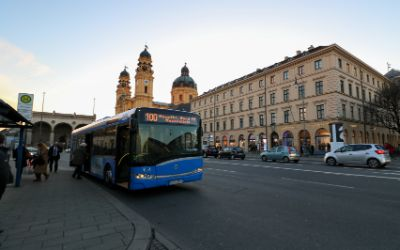 Odeonsplatz - Bus 100