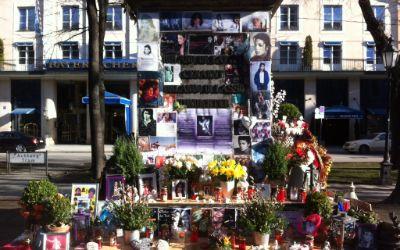 Michael Jackson Gedenkstätte am Bayerischen Hof