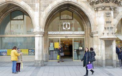 Münchner Stadtinformation im Rathaus