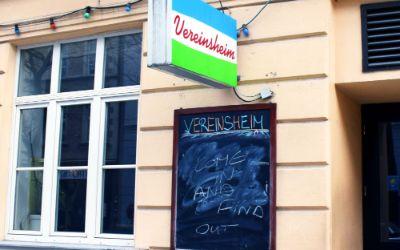 Das Vereinsheim in Schwabing