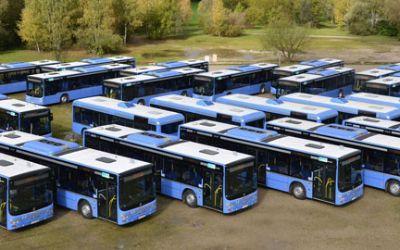 Neue Busse bei der MVG.
