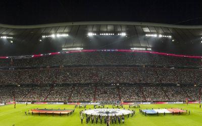 Allianz Arena innen