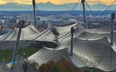 Das Olympiagelände mit seinen zahllosen Möglichkeiten, Sport zu treiben