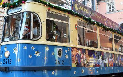 Die Christkindltram durch München
