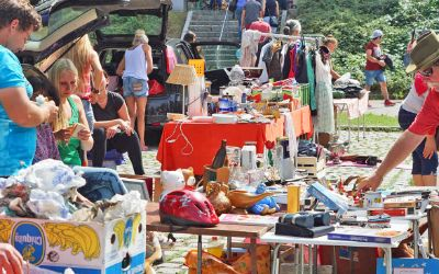 Flohmarkt im Olympiapark