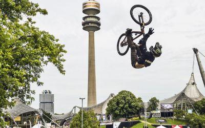 Mountainbike-Wettbewerb im Olympiapark
