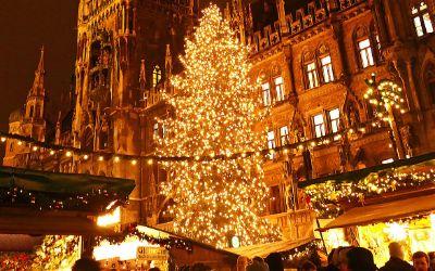 Lichter und Impressionen vom Münchner Christkindlmarkt