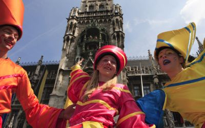 Impressionen vom Stadtgründungsfest in München