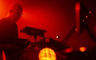 Schiller live auf der Bühne