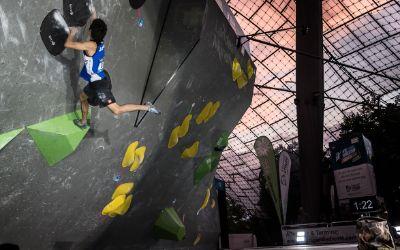 Boulder Weltcup in München