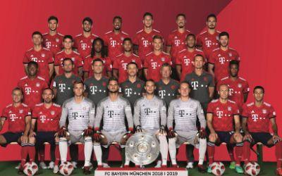 Der Kader des FC Bayern München 2018/19