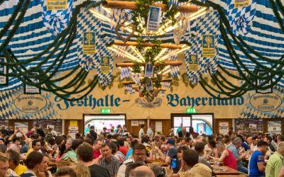 Frühlingsfest Festhalle Bayernland