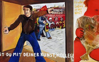 Jörg Immendorff im Haus der Kunst