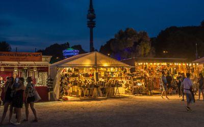 Markt der Ideen auf dem Sommer-Tollwood