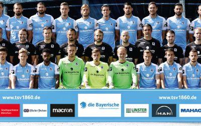 Mannschaftsfoto des TSV 1860 München