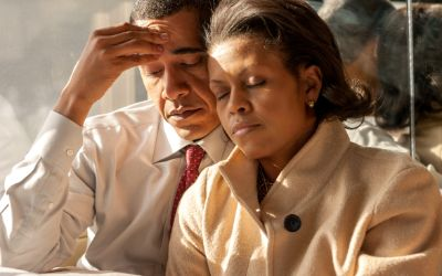 """Foto der Ausstellung """"Hope, Never Fear: Michelle und Barack Obama zwischen Öffentlichkeit und Privatleben"""""""
