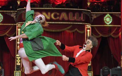 Clowns im Circus Roncalli