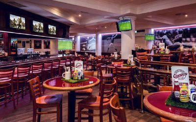 Champions Bar im Marriott Hotel