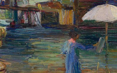"""Bild aus der Ausstellung """"Unter freiem Himmel"""""""
