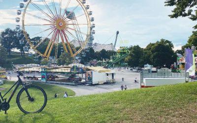 Rad im Olympiapark