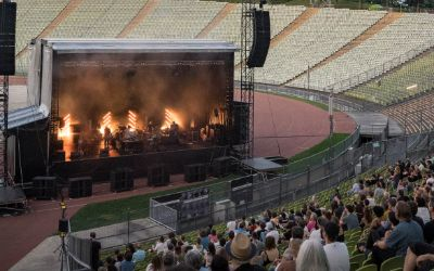 Sommerbühne im Olympiastadion