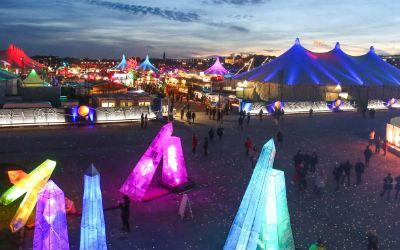 Tollwood-Winterfestival auf der Theresienwiese