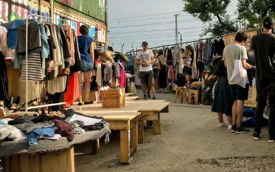 Flohmarkt Krims & Krams beim Bahnwärter Thiel