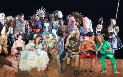 Ensemblebild der Bayerischen Staatsoper