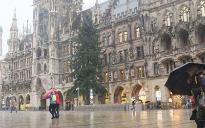 Sturmtief Burglind in München