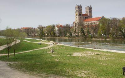 Frühling an der Isar