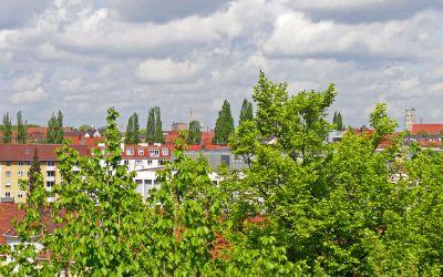 Aussicht vom Nockherberg auf die Frauenkirche