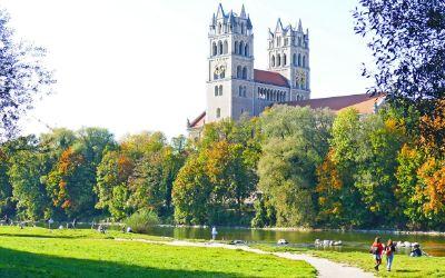 Isar im Herbst