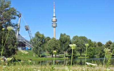 Sommer im Olympiapark