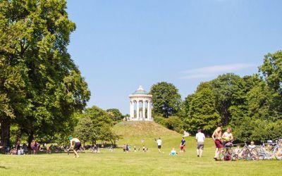 Sommer im Englischen Garten