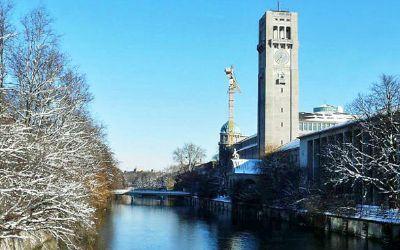 Deutsches Museum im Winter