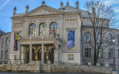 Prinzregententheater im Winter
