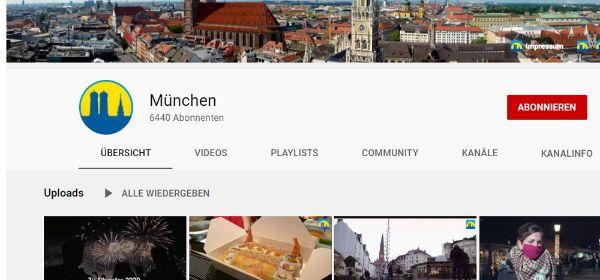 muenchen.de auf YouTube